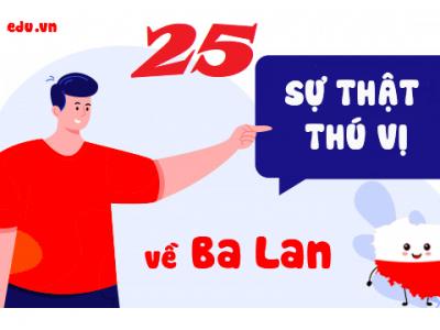 25 SỰ THẬT THÚ VỊ VỀ BA LAN CÓ THỂ BẠN CHƯA BIẾT