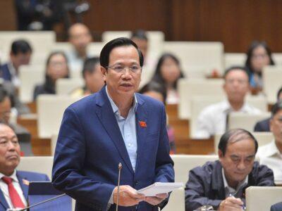 Bộ trưởng Đào Ngọc Dung nêu cơ chế đào tạo lao động thích ứng thị trường
